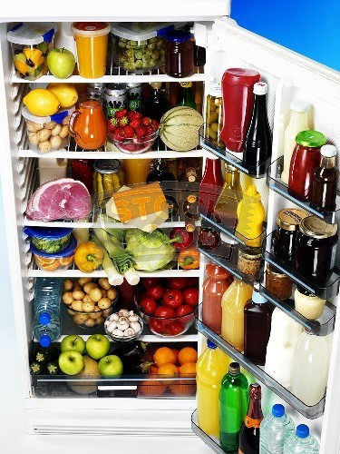 full fridge